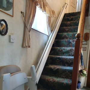 Another solid stairlift installation