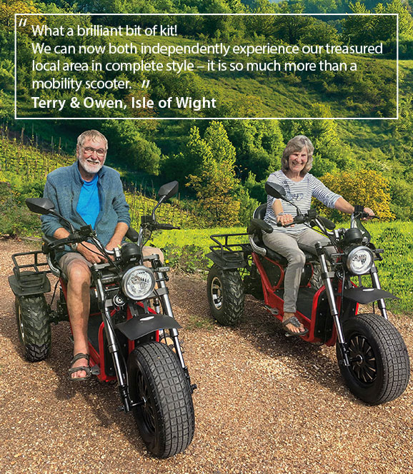Invader Off-Road Mobility Scooter Customer Quote