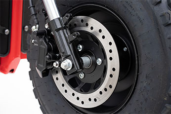 Invader Off-Road Mobility Scooter Hydraulic Breaking System - Hydraulic Braking System