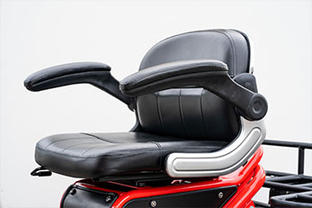 Invader Off-Road Mobility Scooter Seating - Off-Road Ready Seating
