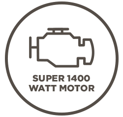 """Performance perks of the """"Ignite"""" mobility scooter include a super 1400W motor."""