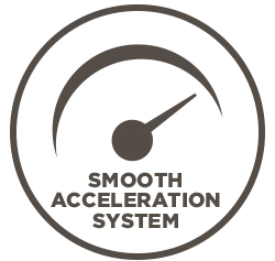 """Performance perks of the """"Ignite"""" mobility scooter include a smooth acceleration system."""